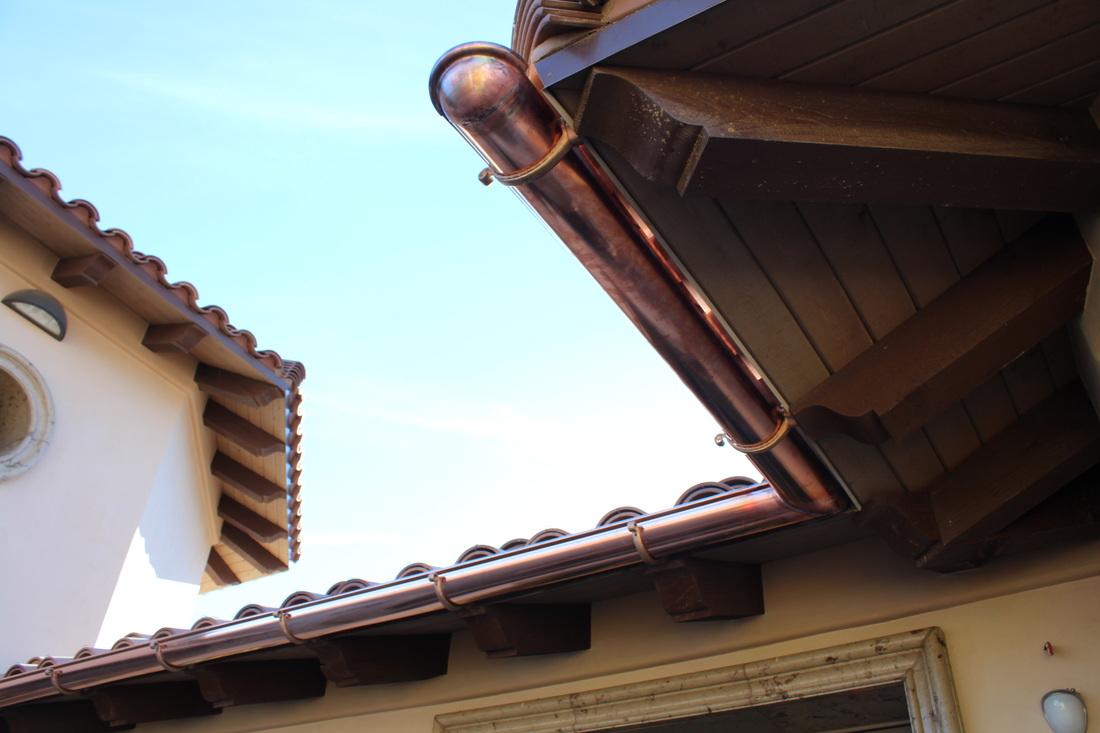 Custom Sheet Metal Projects A Plus Gutter Systems Of Los